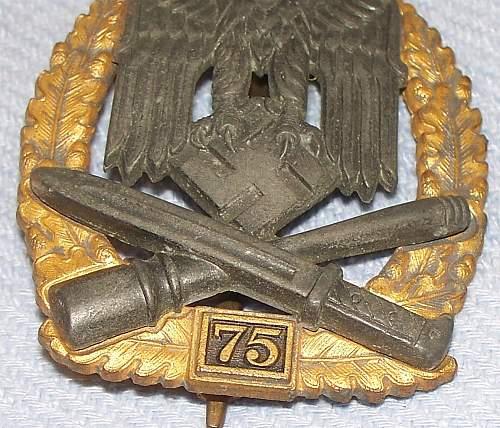 75 Allgemeines Sturmabzeichen: good or bad?
