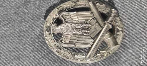 General Assault Badge by JFS