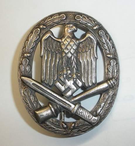 Need help Identifying this silver Allgemeines Sturmabzeichen