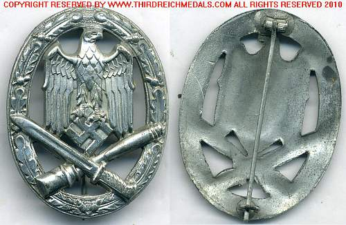 Allg.sturmabzeichen & Minesucherabzeichen authentic?