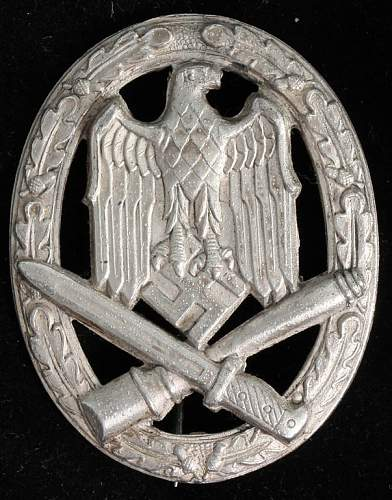 Opinions on some Allgemeines Sturm Abzeichen. REAL or FAKE