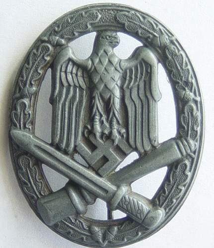 Click image for larger version.  Name:General assualt badge 001.jpg Views:1599 Size:198.6 KB ID:30395