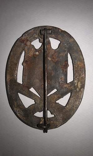Real or Fake Allgemeine Sturmabzeichen - Bronze