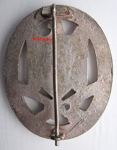 'Half Moon' Hinge Plate Solid Zinc GAB.