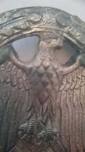 allgemeines sturmabzeichen silber