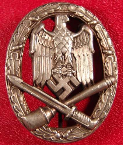 Allgemeines Sturmabzeichen/General Assault Badge Fake Gallery
