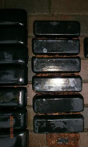 Different german half truck & tank rubber track pads???