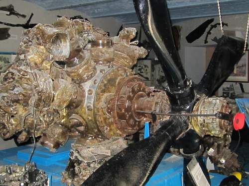 P47-D Thunderbolt Engine.