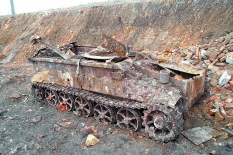 Sd.Kfz. 301 found in vienna
