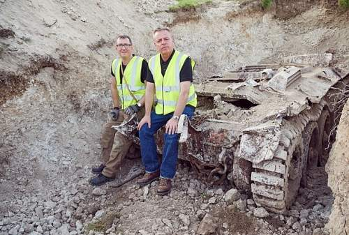 Covenanter  tank  recovery