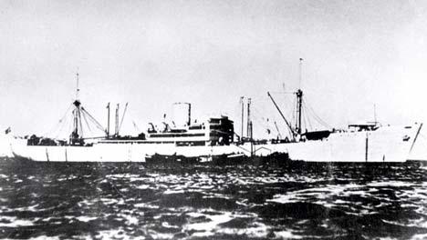 HMAS Sydney and DKM Koroman found