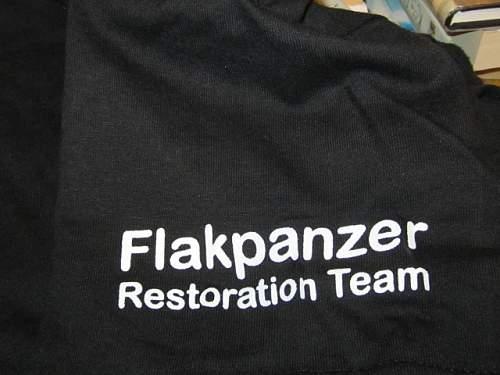 Flakpanzer Restoration in Canada