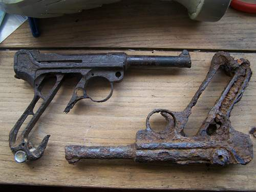 Relic Luger and PPsh41