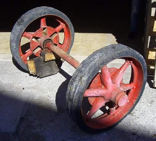 Sellng Price/Value Of Pak 40 AT Wheels?