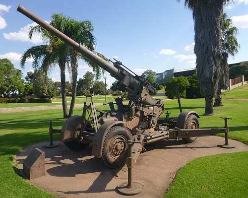 G.E 3.7 inch Mobile Anti Aircraft Gun