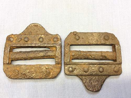Can someone help identify these buckles please? :-)