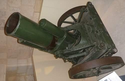 25 CM Schwerer  Minenwerfer,Fort St Elmo,Valletta Malta