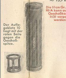 German Einsatzklotz