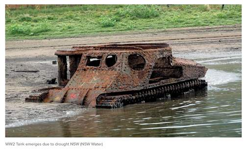 Australian Drought reveals Tank