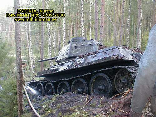 Amazing T-34/76 Recovery