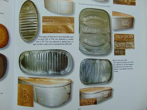 Food tins