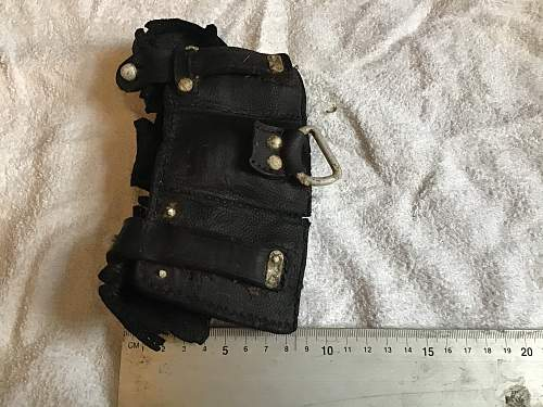 Unusual ammo pouch