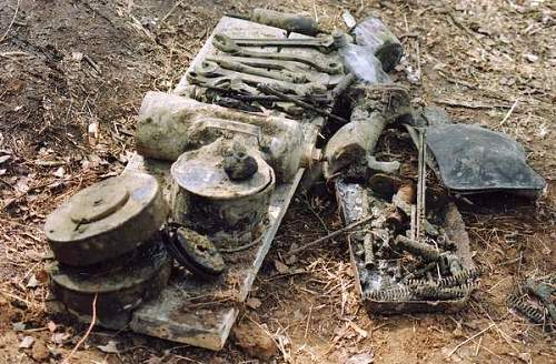 Soviet T-38 recovered from Neva river