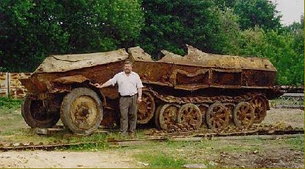 Another German half track find