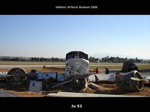 JU 52 aircraft- Kreta