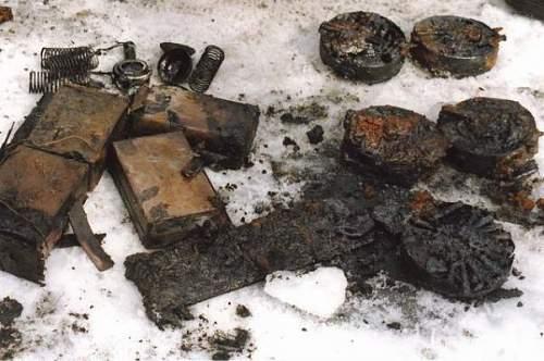 T-26 from Baltic sea, Finnish war 1939-40 year