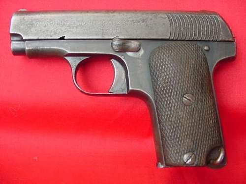 relic pistol to ID