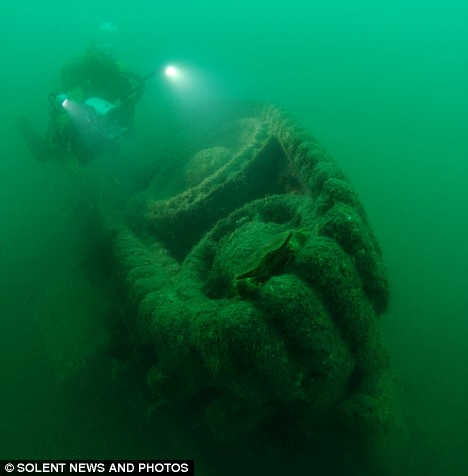 British Tanks found in the English Channel