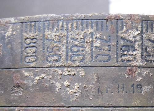 German 105mm LeFH18 part ?? ID please? found in UK.