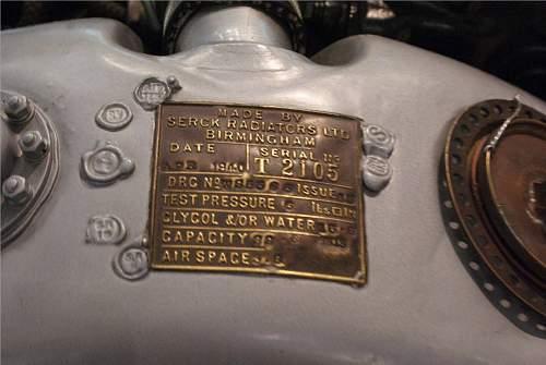 Merlin engine - Close up photos