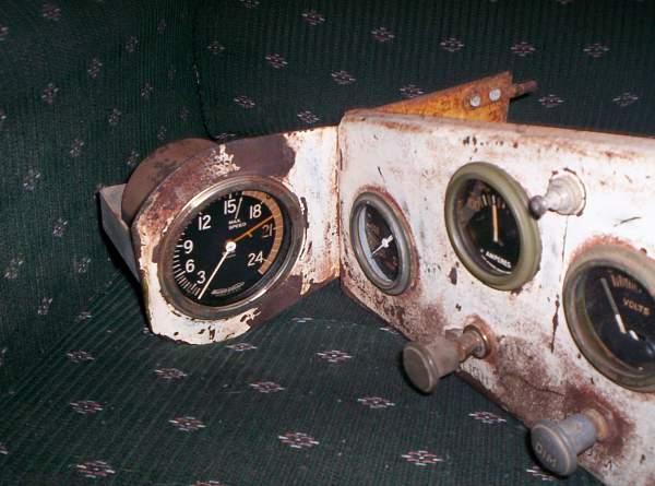 USA M3 Stuart (Honey) dash panel.