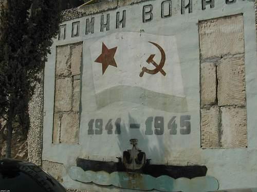 Soviet Black Sea Fleet Submarine Base At Balaklava