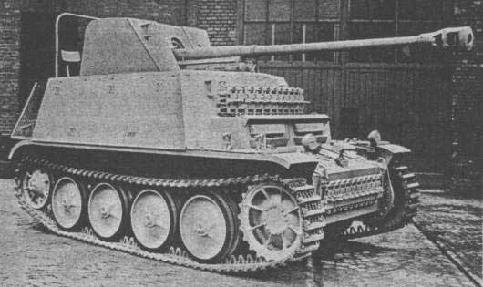 Pak 38 gun in Tutters island