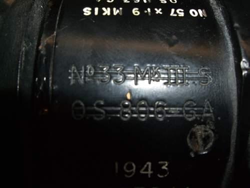 British 6 Pdr Gun Sight!
