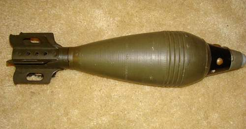 82 mm mortar round, id needed