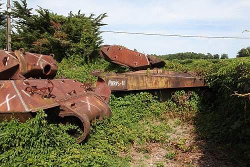 Tank graveyard?