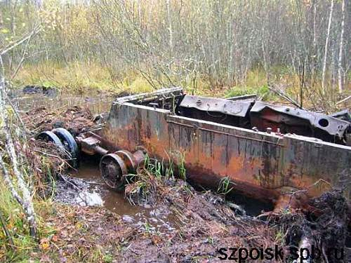 KV1-S found in the forests near Leningrad, Wolchow front