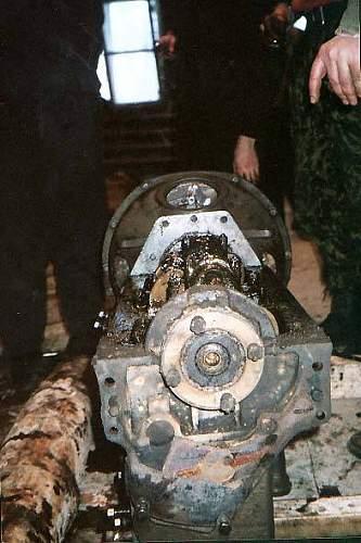 T 70 Soviet tank found in the swamps near Pskov