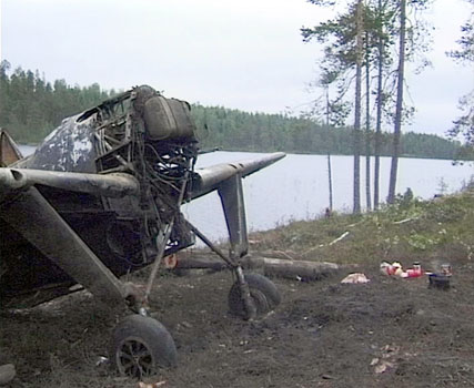 Winter war: Finnish Brewster recovered from lake