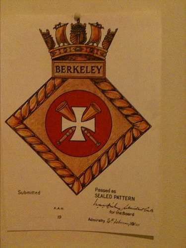 Dieppe 1942: parts of HMS Berckeley