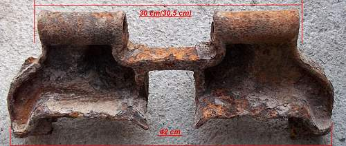 Military panzer track link(Kettenglied) ?