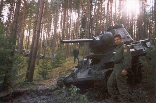 T 34 m43, re-issued with Balkenkreuz