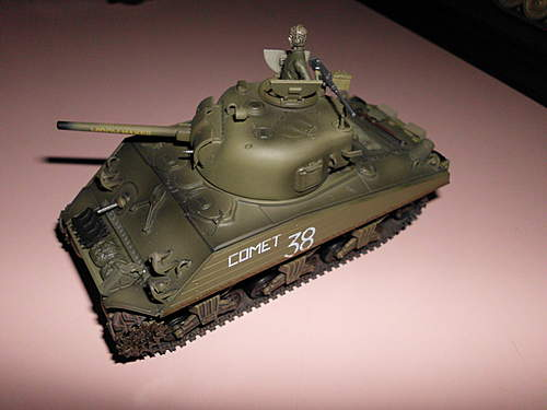 Sherman relic on Iwo Jima