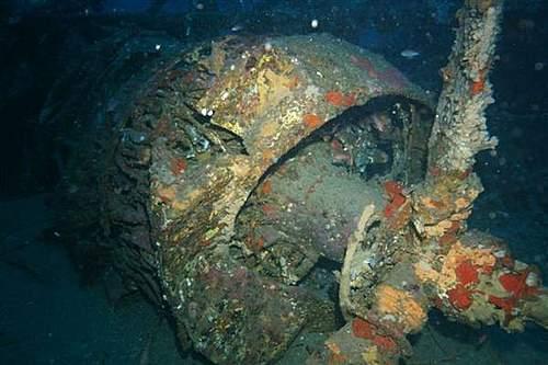 Me 323 Gigant discovery off Sardinia