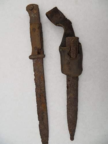k98 and bayonet