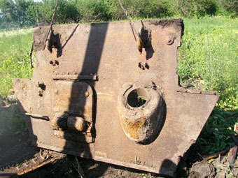 Remains discovered of a T34 along with it's crew